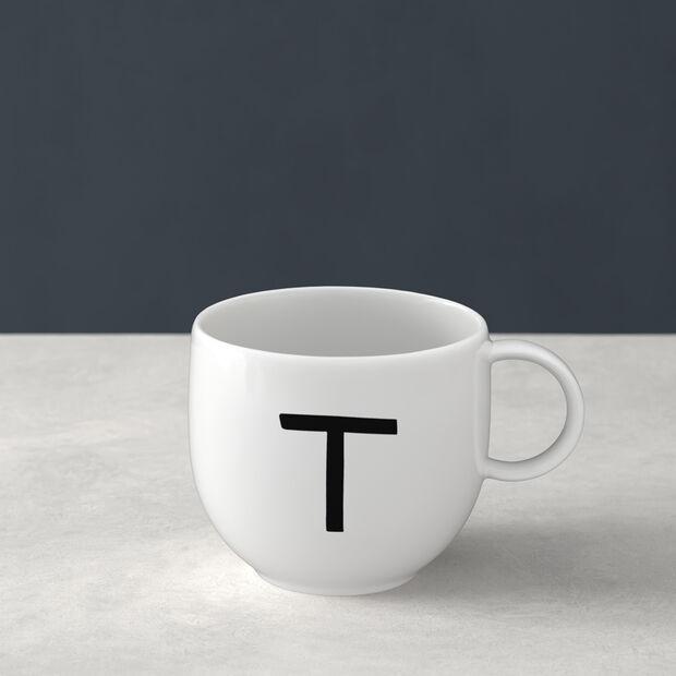 Mug Letters T 13x10x8cm, , large