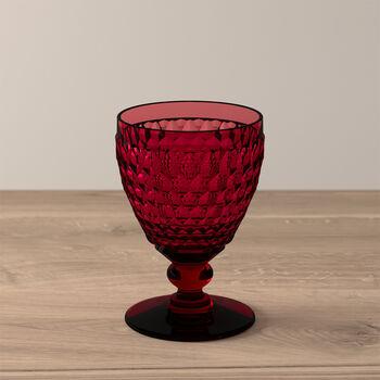Boston Coloured witte-wijnglas red