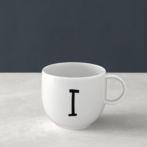 Letters beker W 13x10x8cm, , large