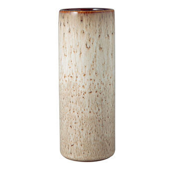 Lave Home Vase Cylinder, 7,5x7,5x20cm, Beige