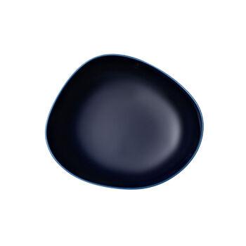 Organic Dark Blue assiette creuse, bleu foncé, 20cm