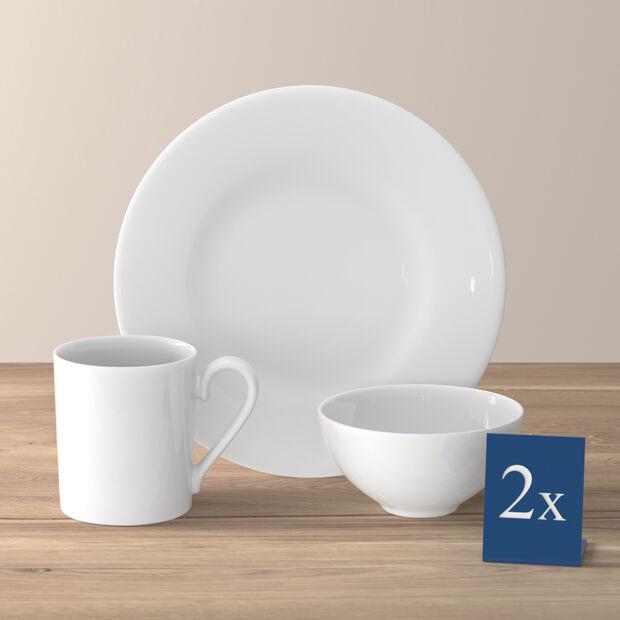 Royal ontbijtset voor twee personen 6-delig, , large