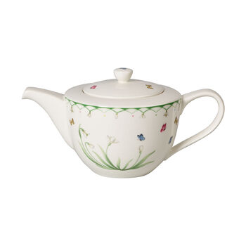 Colourful Spring theepot, 1,3 l, groen