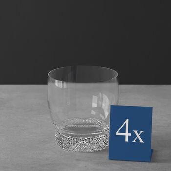 Octavie verre à whisky, 4pièces