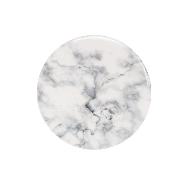 Marmory assiette à dessert blanche, 21x21x1,5cm, , large