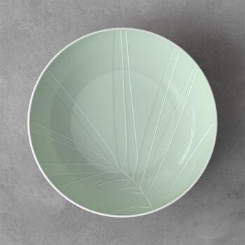 it's my match serveerschaal Leaf, 26x6,5 cm, mineraal groen