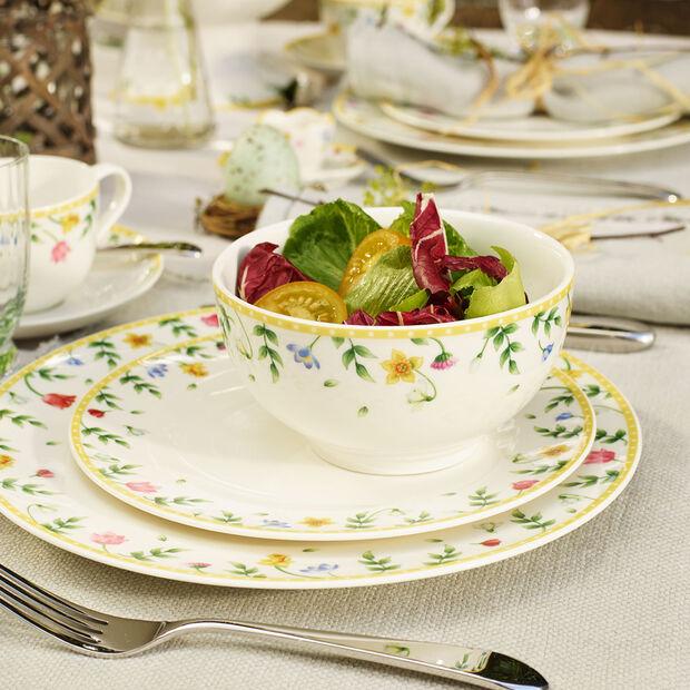 Spring Awakening assiette plate champ de fleurs, , large