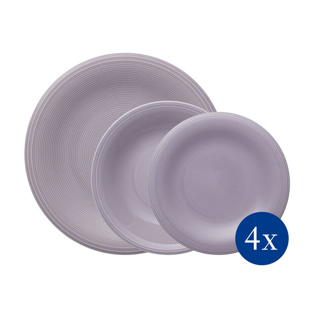 Color Loop Blue ensemble de vaisselle de base, bleu, 12pièces, , large