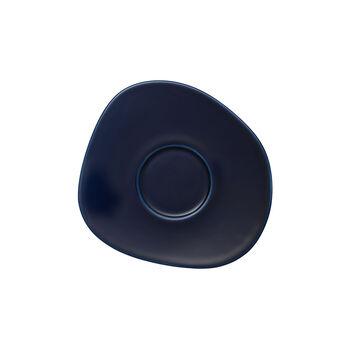 Organic Dark Blue koffieschotel, donkerblauw, 17,5 cm