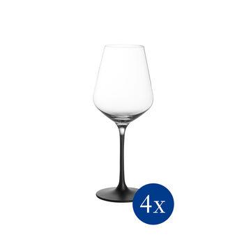 Manufacture Rock witte wijnglas, 4 stuks, 380 ml