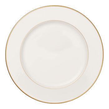 Anmut Gold rond bord, diameter 32 cm, wit/goud