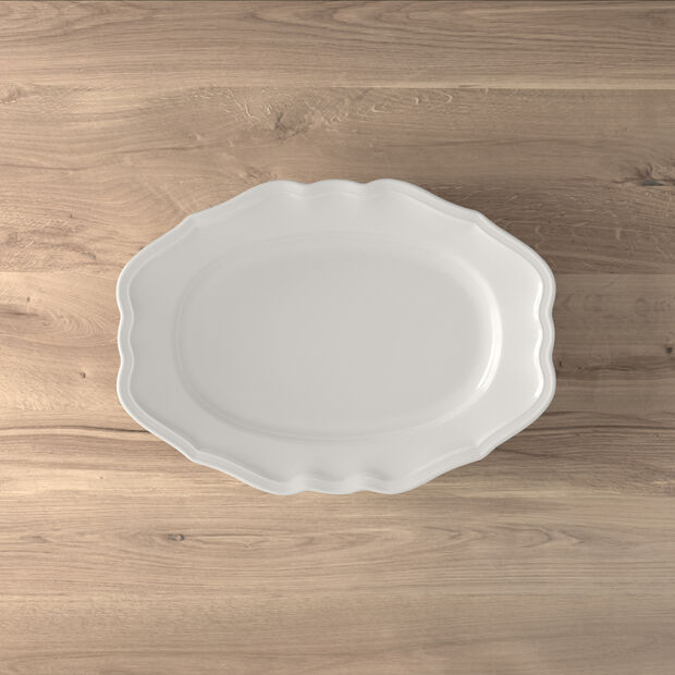 Manoir plat ovale 37cm, , large