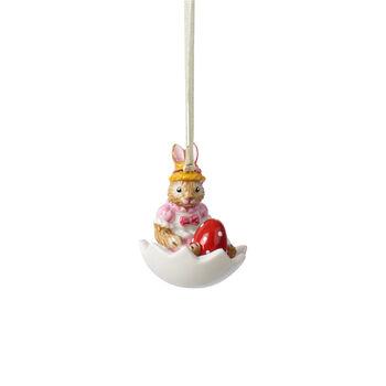 Bunny Tales ornament Anna in eierschaal