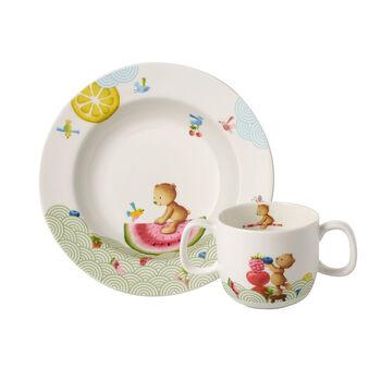 Hungry as a Bear Ensemble de vaisselle pr enfants, 2pcs