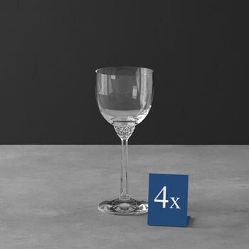 Octavie rode wijnglas, 4 stuks