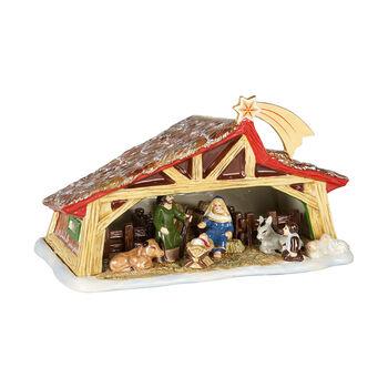 Christmas Toy's Memory kribbe, gekleurd, 27 x 16 x 16 cm