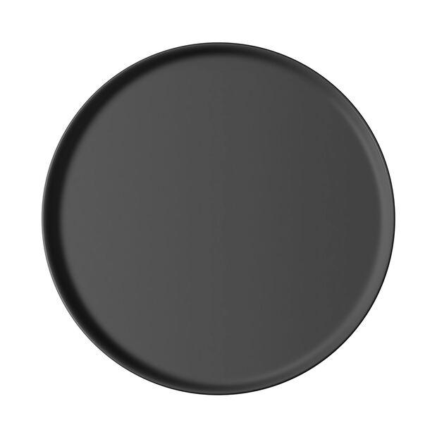 Iconic universeel bord, zwart, 24 x 2 cm, , large