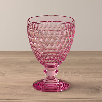 Boston Coloured waterglas rose