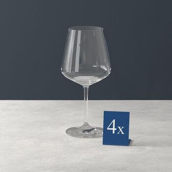 Ovid rode wijnglas set van 4