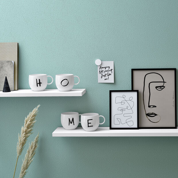 Mug Letters E 13x10x8cm, , large