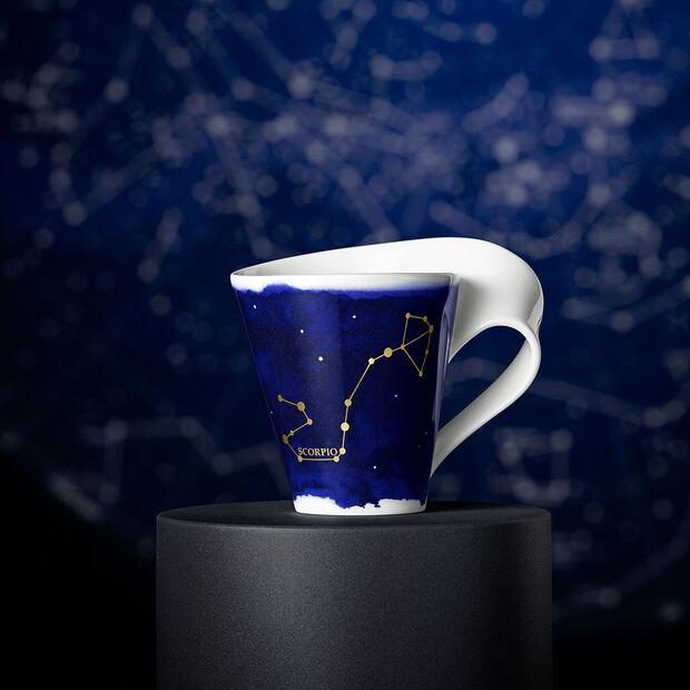 NewWave Stars beker Schorpioen, 300 ml, blauw/wit, , large