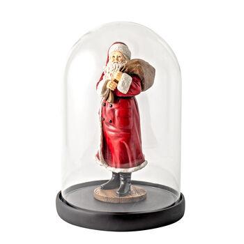 Winter Collage Accessoires Bell Santa met een zak en een beer 10,2x10,2x26,4cm