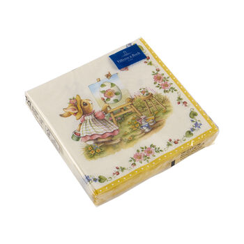 Spring Fantasy servetten, haas, 33x33cm, 20 stuks