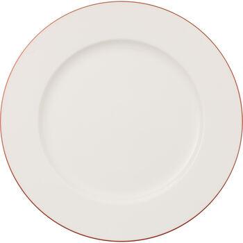 Anmut Rosewood ronde, platte schaal