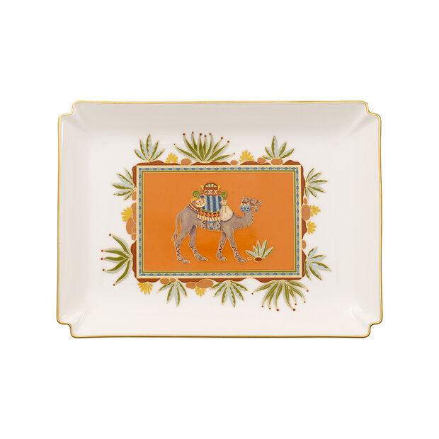 Samarkand Mandarin Gifts Deco-schaal groot 28x21cm, , large