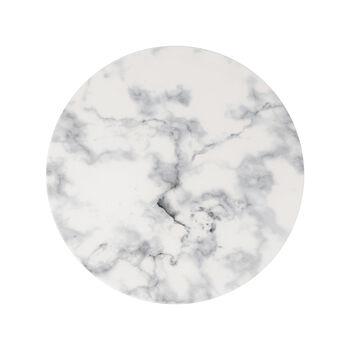 Marmory Dinerbord white, 27x27x1,5cm
