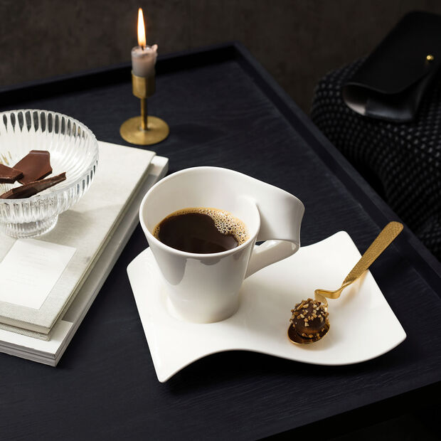 NewWave Caffè petite sous-tasse à café 20x14cm, , large