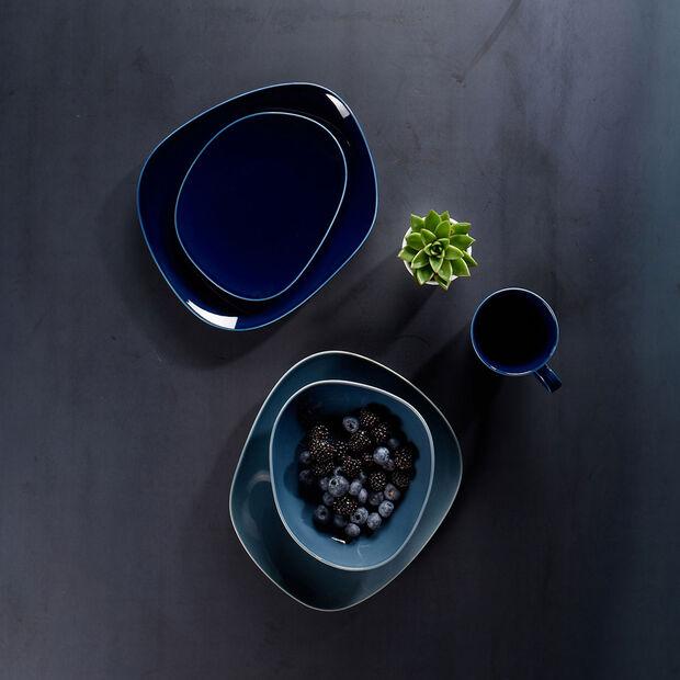 Organic Dark Blue mug à anse, bleu foncé, 350ml, , large