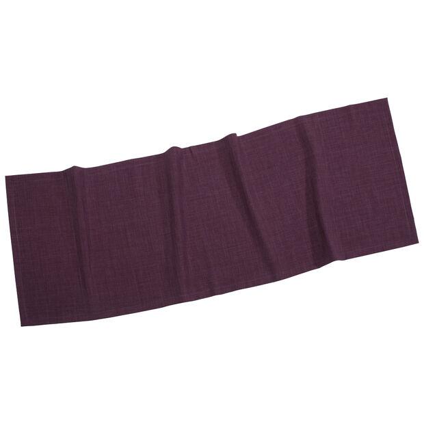 Textil Uni TREND Chemin de table violet 50x140cm, , large