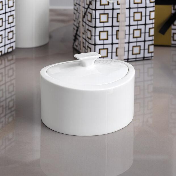 MetroChic blanc Gifts Porseleinen doosje 16x13x10cm, , large
