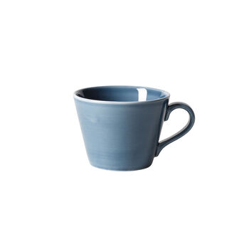 Organic Turquoise Koffiekop 12 x 9,5 x 7cm