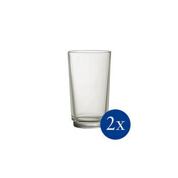 like.by Villeroy & Boch it's my match longdrinkglas-set mineral, groen, 8 x 14 cm, 2-delig