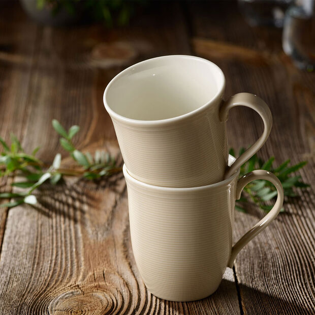 Color Loop Sand mug à anse 13x9x10cm, , large