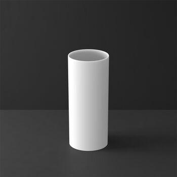 MetroChic blanc Gifts Vaas lang 13x13x30,5cm