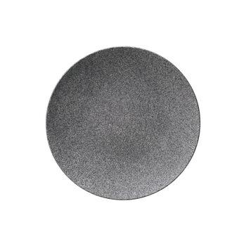 Manufacture Rock Granit assiette plate, 25cm, grise
