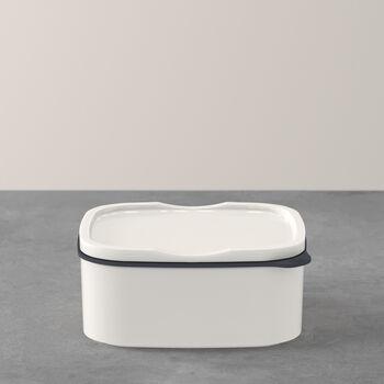 ToGo&ToStay lunchbox, 13x10x6cm, hoekig, wit