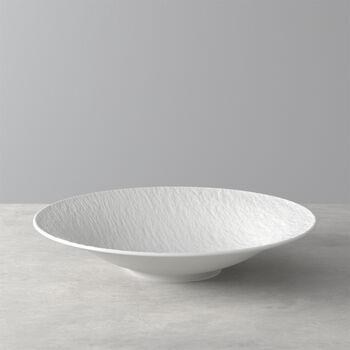 Manufacture Rock Blanc coupe creuse, 29cm