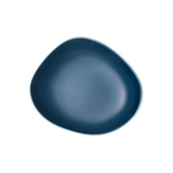 Organic Turquoise Diep bord 20 x 18 x 5,5cm