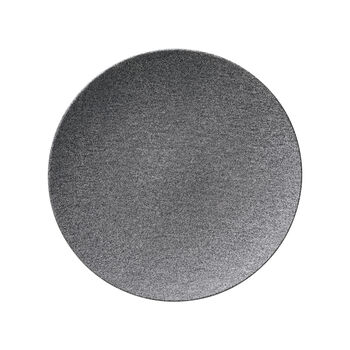 Manufacture Rock Granit assiette plate, coupe, 27cm, grise