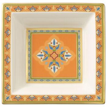 Samarkand Mandarin schaaltje vierkant 10x10cm