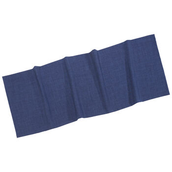 Textil Uni TREND Runner marine 50x140cm