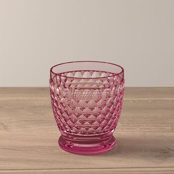 Verre à eau/cocktail Rose Boston Coloured