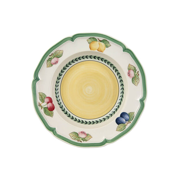 French Garden Fleurence diep bord, , large