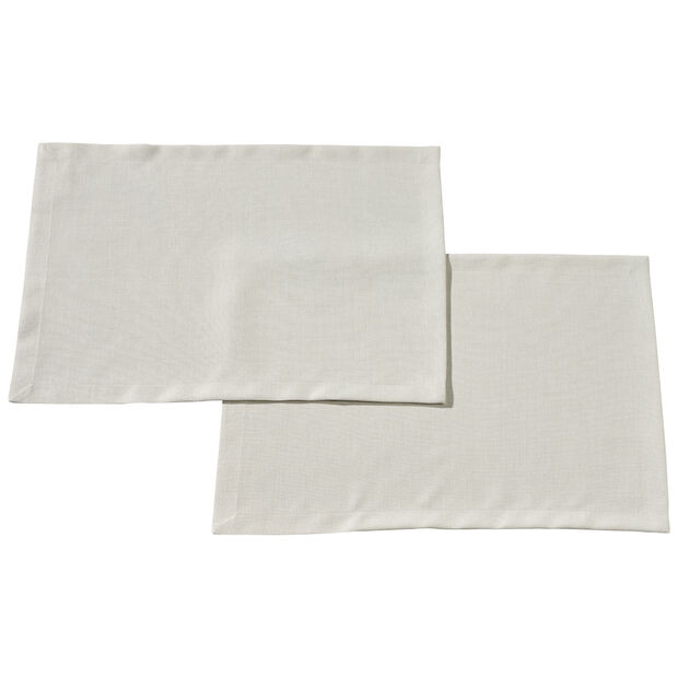Textil Uni TREND Set de table Stone S2 35x50cm, , large