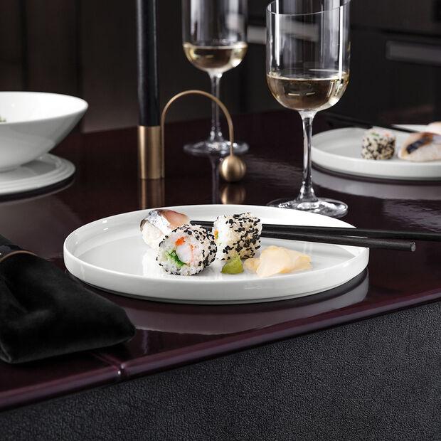 Iconic assiette universelle, blanche, 24x2cm, , large