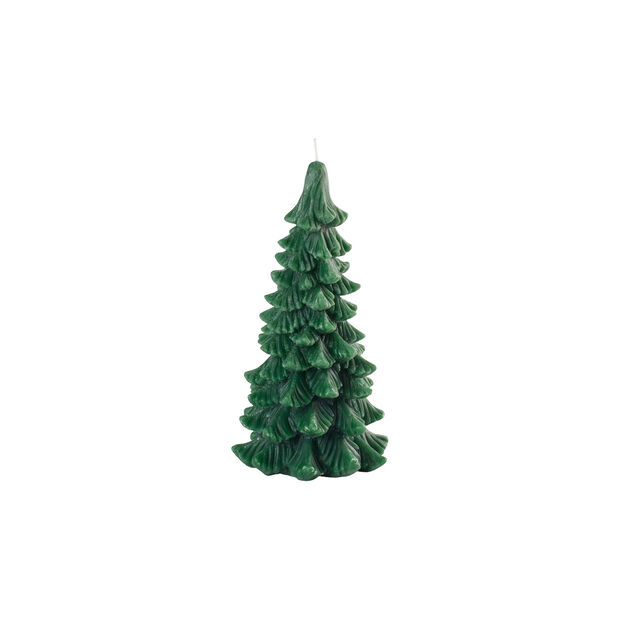 Winter Collage Accessoires bougie sapin M 17,5cm, , large